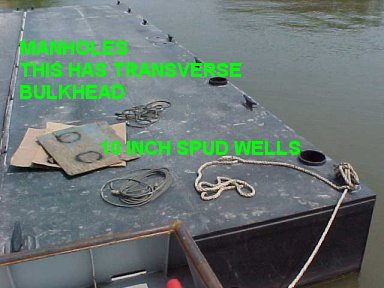 Barges Construction Truckable Pin Together