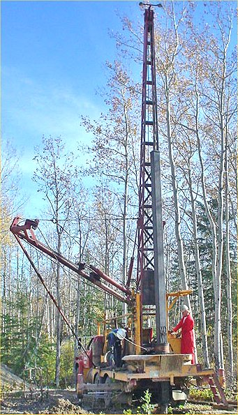 WATER WELL AND RICK DRILLING RIGS, DRILLING TOOLS