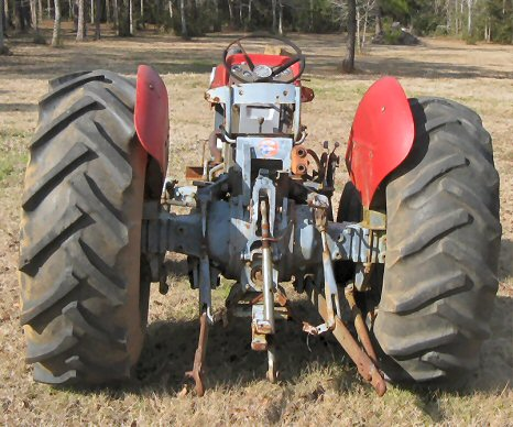 TRACTORS, FARM TYPE AND EQUIPMENT